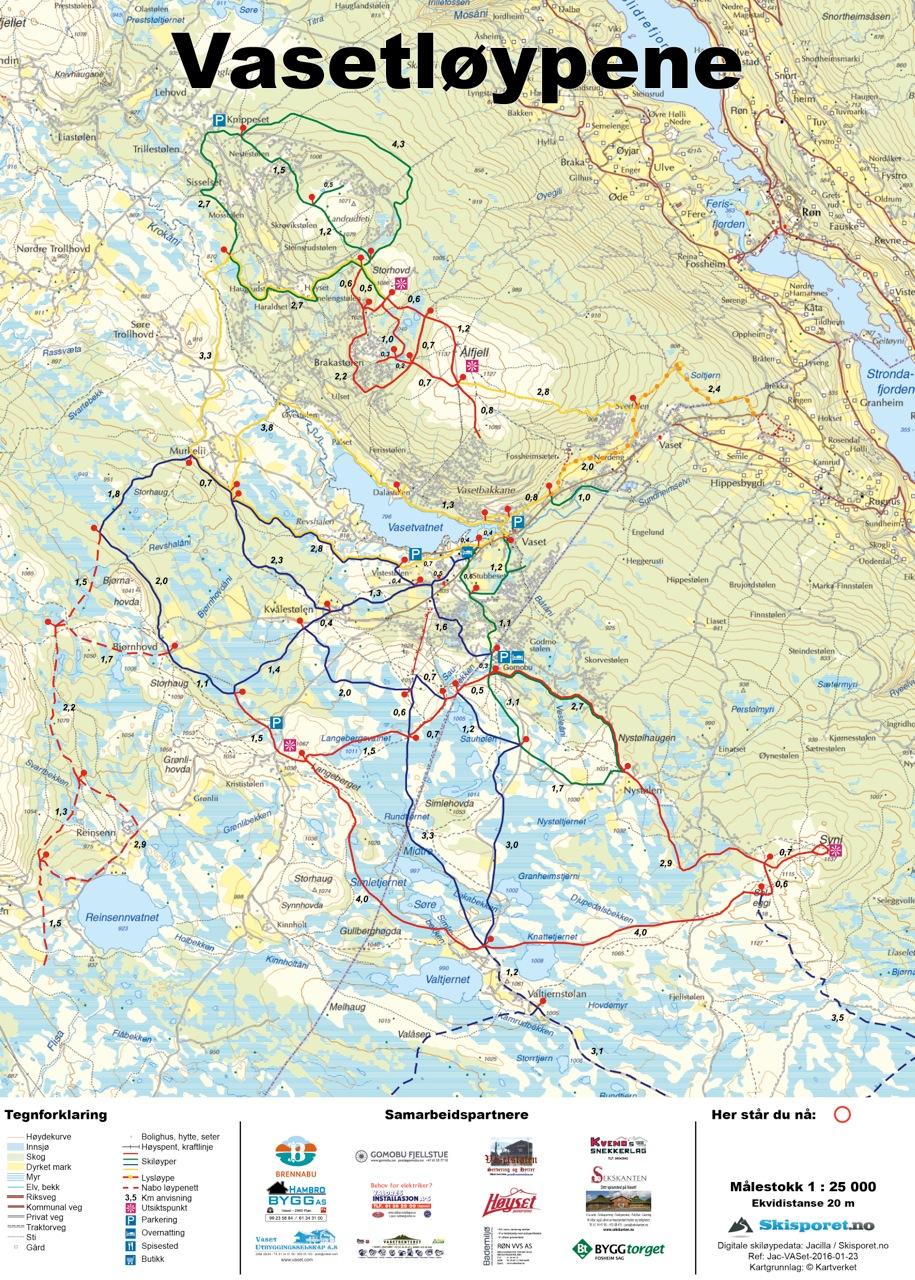 kart vaset Vasetløypene :: Velkommen kart vaset